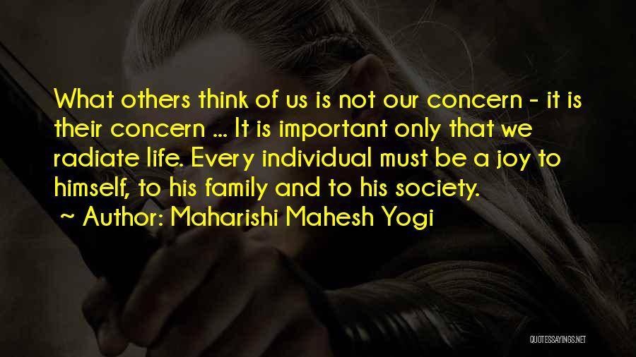 Joy And Family Quotes By Maharishi Mahesh Yogi