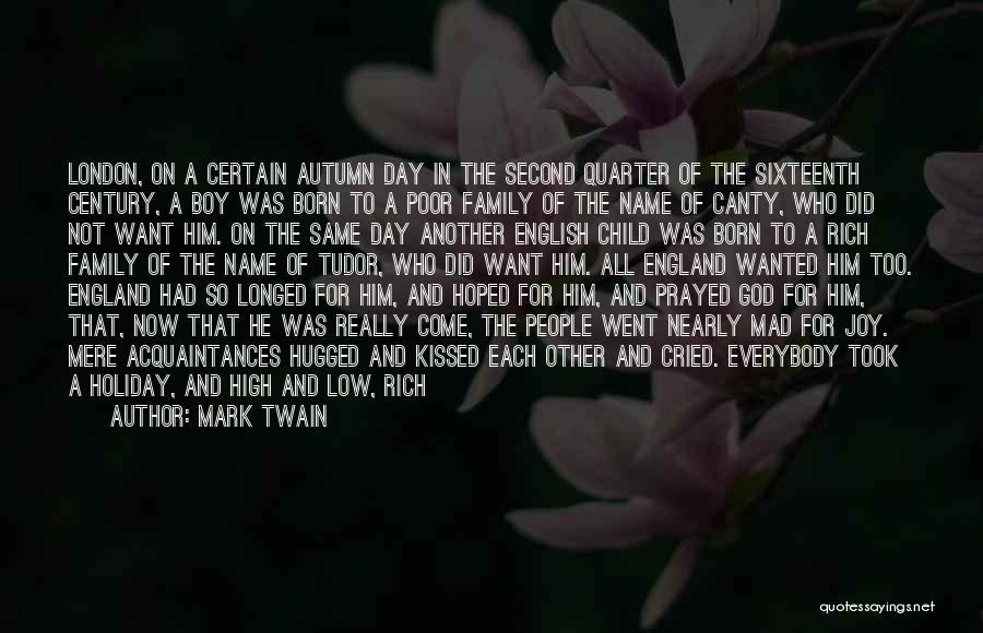 Joy And Family Quotes By Mark Twain