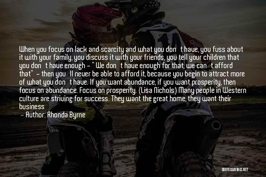 Joy And Family Quotes By Rhonda Byrne