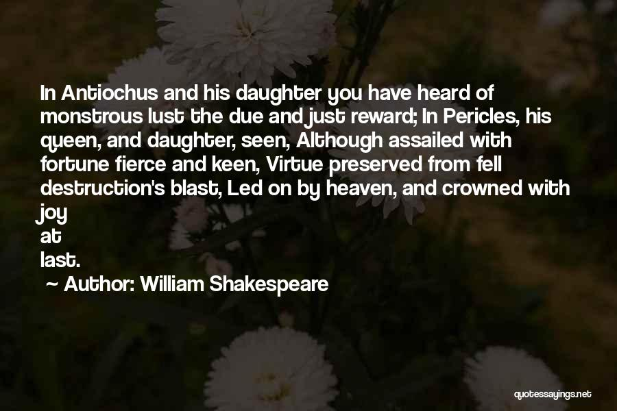 Joy And Family Quotes By William Shakespeare