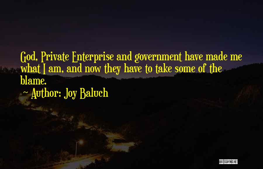 Joy Baluch Quotes 111777