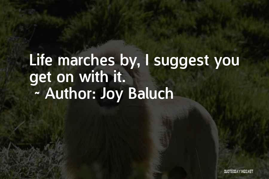 Joy Baluch Quotes 1879722
