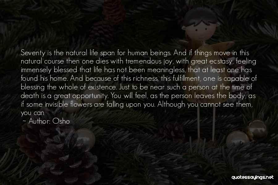 Joy In The Little Things Quotes By Osho