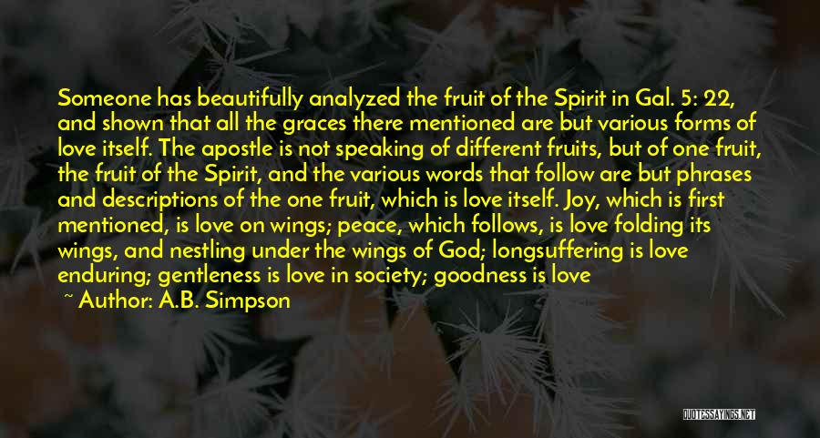 Joy Of God Quotes By A.B. Simpson