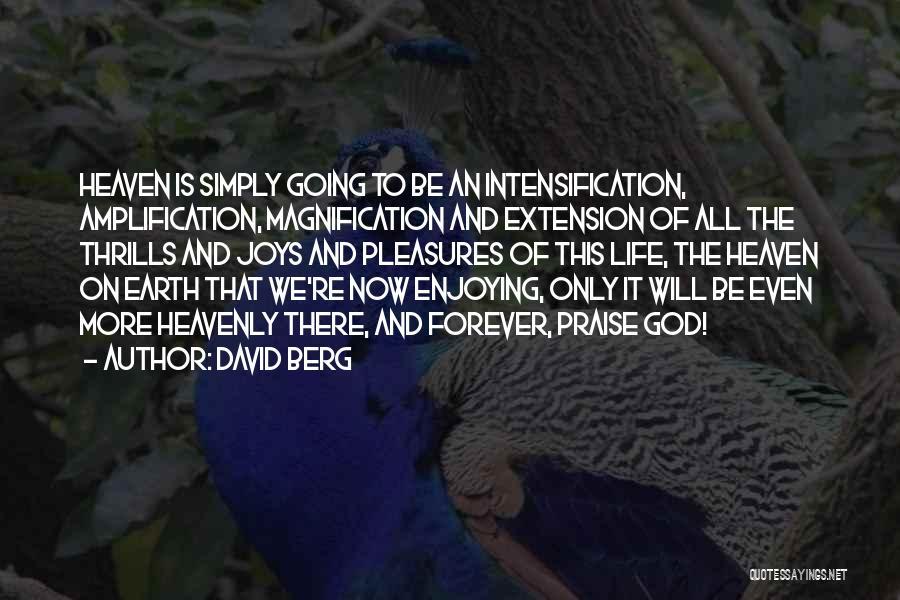 Joy Of God Quotes By David Berg