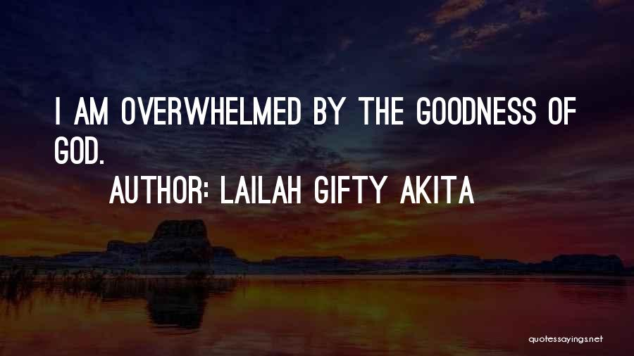 Joy Of God Quotes By Lailah Gifty Akita