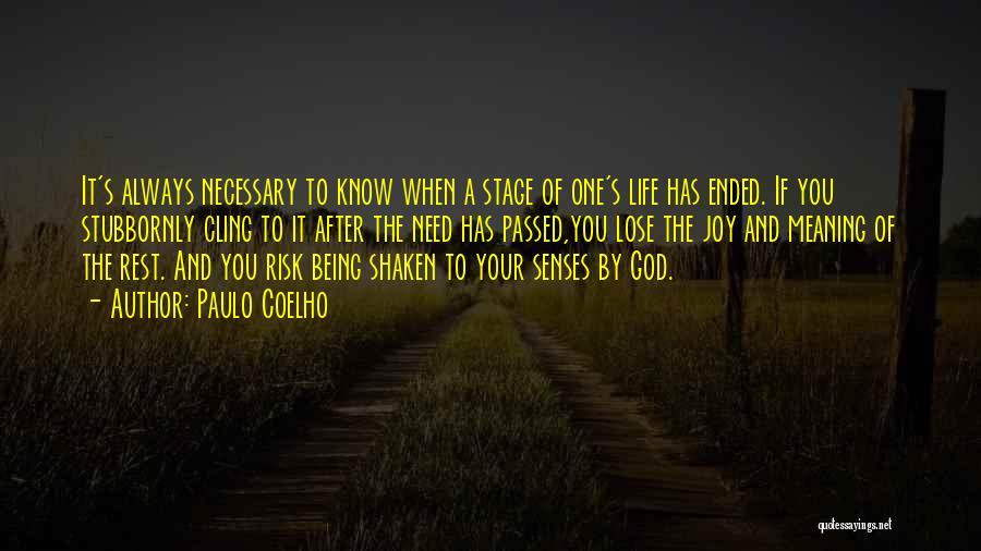 Joy Of God Quotes By Paulo Coelho