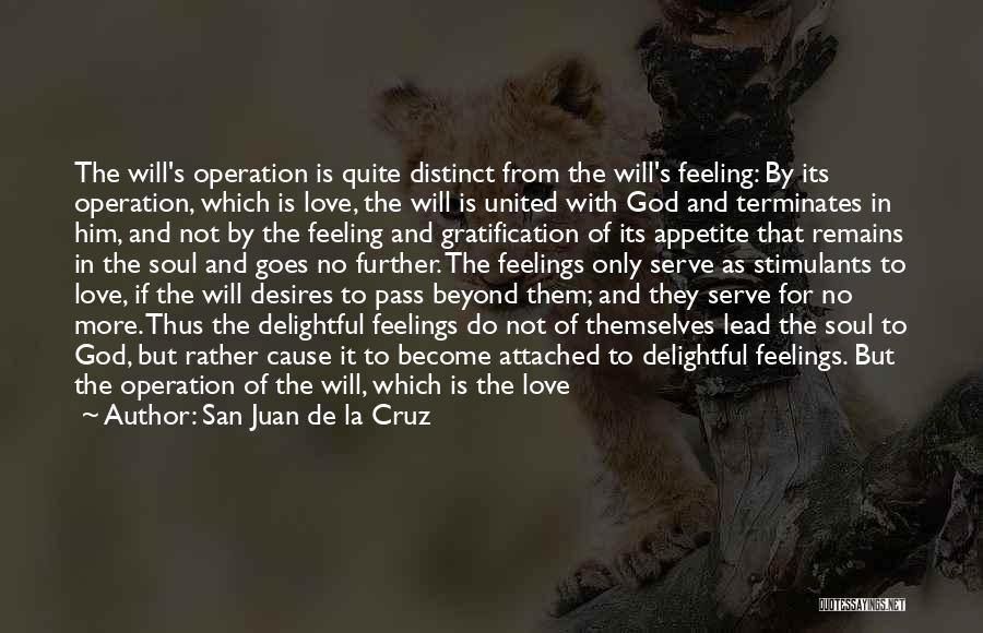 Joy Of God Quotes By San Juan De La Cruz