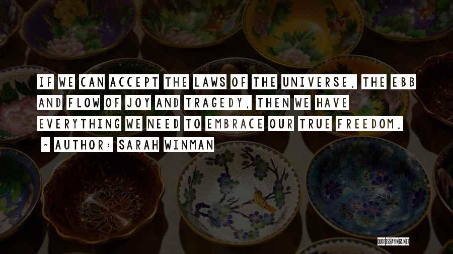 Joy Of God Quotes By Sarah Winman