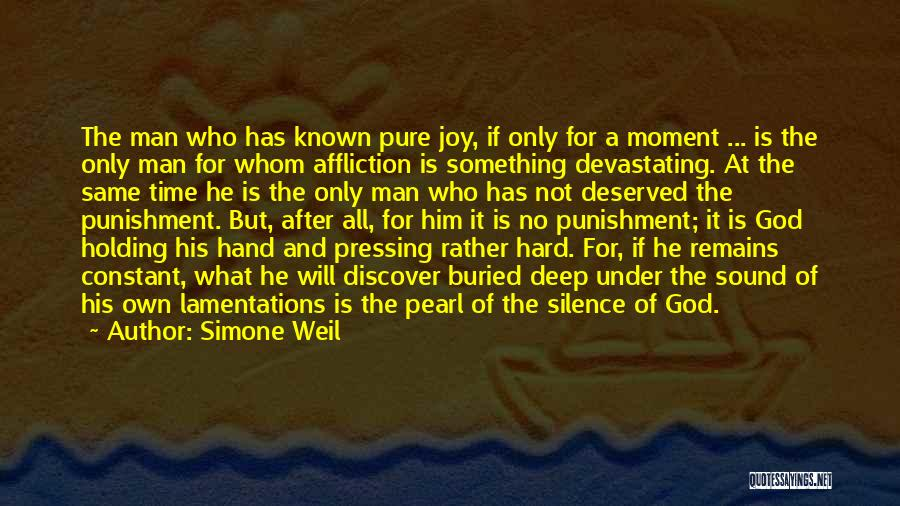 Joy Of God Quotes By Simone Weil