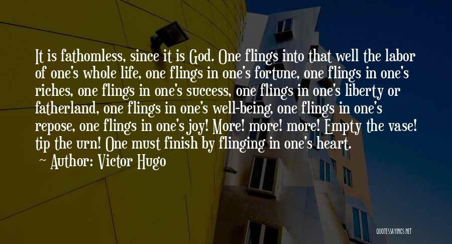 Joy Of God Quotes By Victor Hugo
