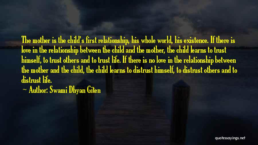 Joy Of Parenting Quotes By Swami Dhyan Giten
