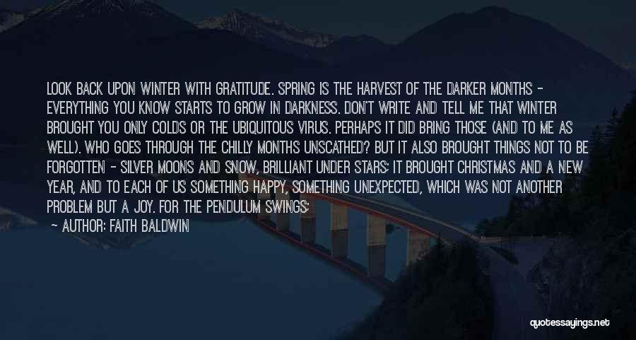 Joy Road Quotes By Faith Baldwin
