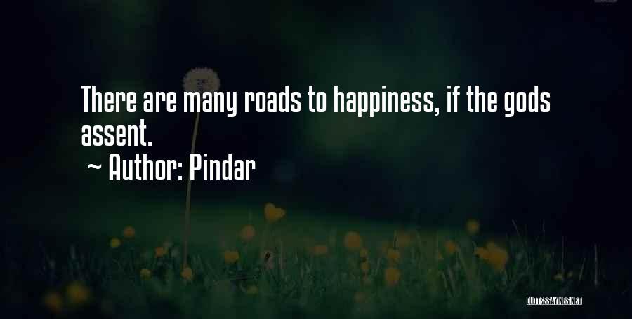 Joy Road Quotes By Pindar