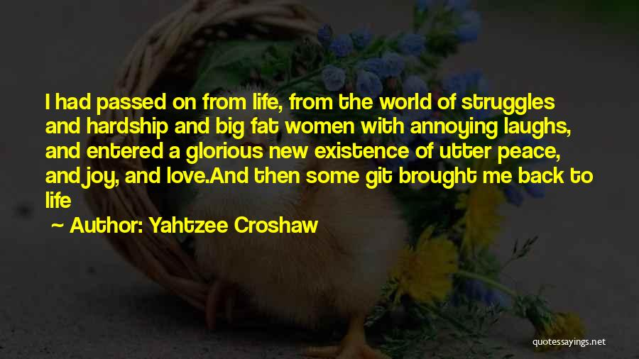 Joy To The World Quotes By Yahtzee Croshaw