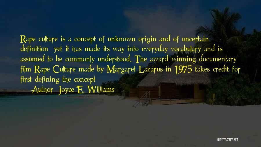 Joyce E. Williams Quotes 1836599