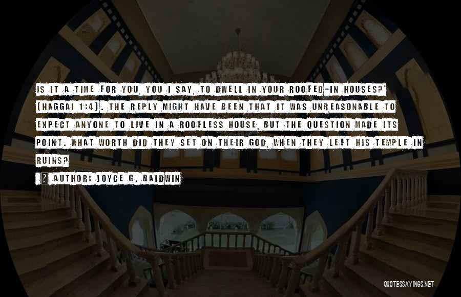 Joyce G. Baldwin Quotes 1376753