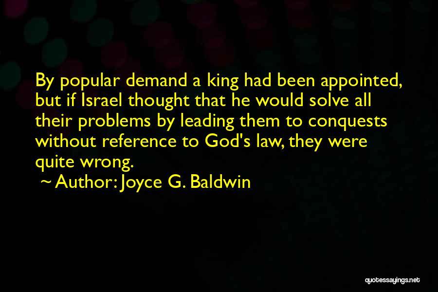 Joyce G. Baldwin Quotes 2252624