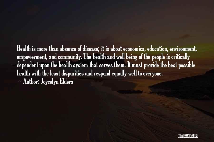 Joycelyn Elders Quotes 1299878