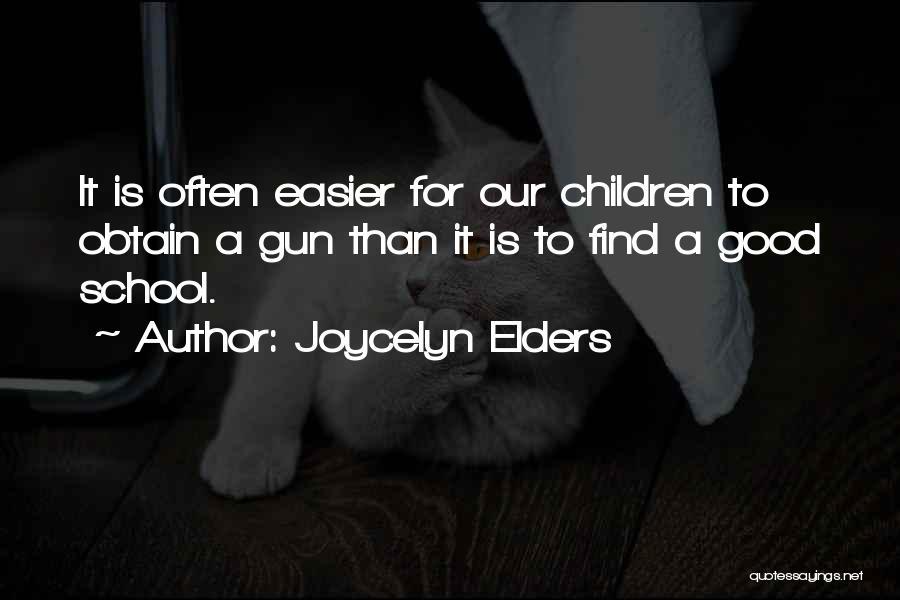 Joycelyn Elders Quotes 227894