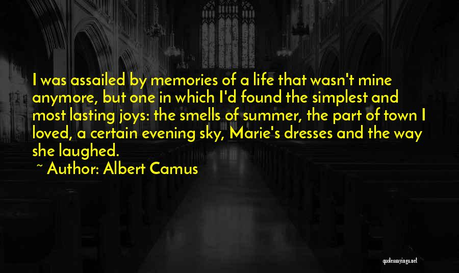 Joys In Life Quotes By Albert Camus