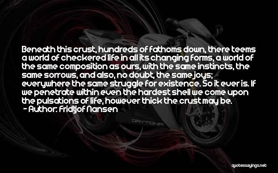 Joys In Life Quotes By Fridtjof Nansen