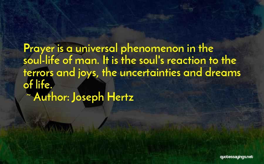 Joys In Life Quotes By Joseph Hertz
