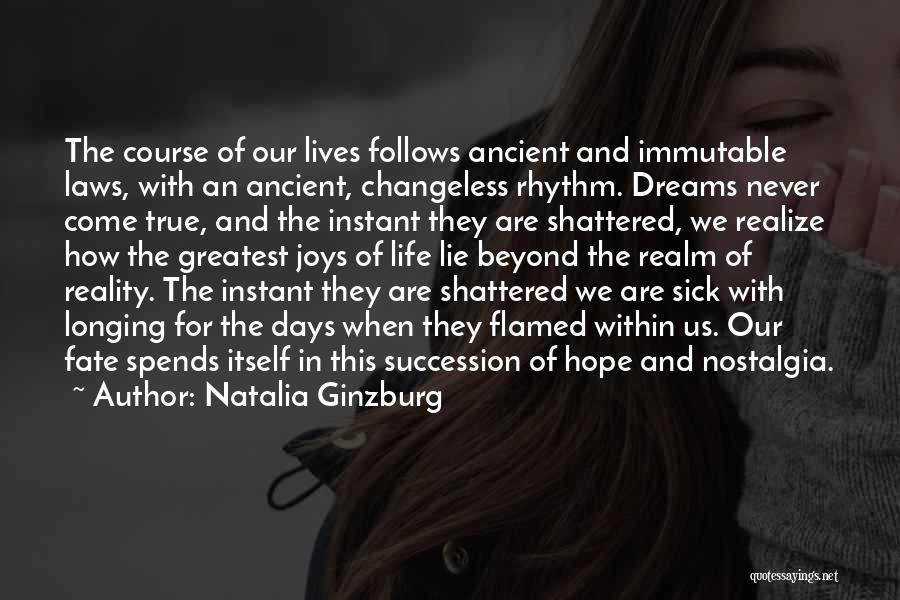 Joys In Life Quotes By Natalia Ginzburg