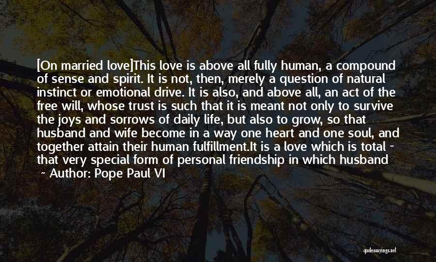 Joys In Life Quotes By Pope Paul VI