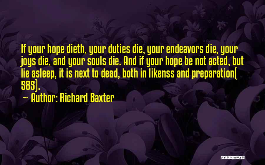 Joys In Life Quotes By Richard Baxter