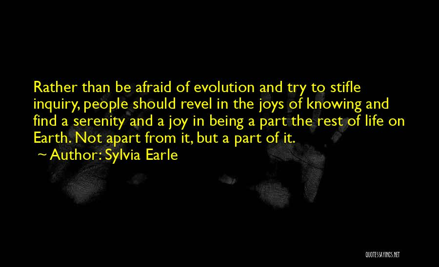Joys In Life Quotes By Sylvia Earle