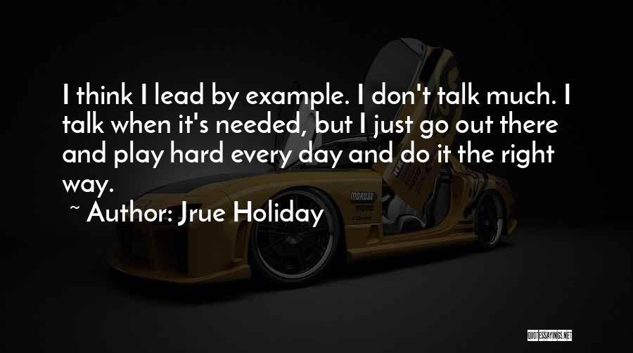 Jrue Holiday Quotes 882384