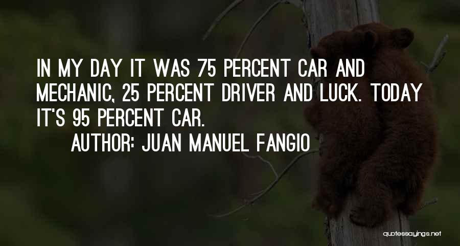 Juan Manuel Fangio Quotes 1161334