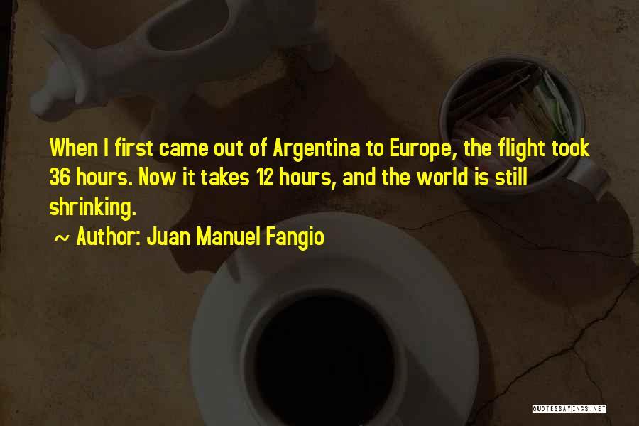 Juan Manuel Fangio Quotes 1683783