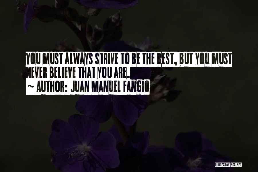 Juan Manuel Fangio Quotes 2082196