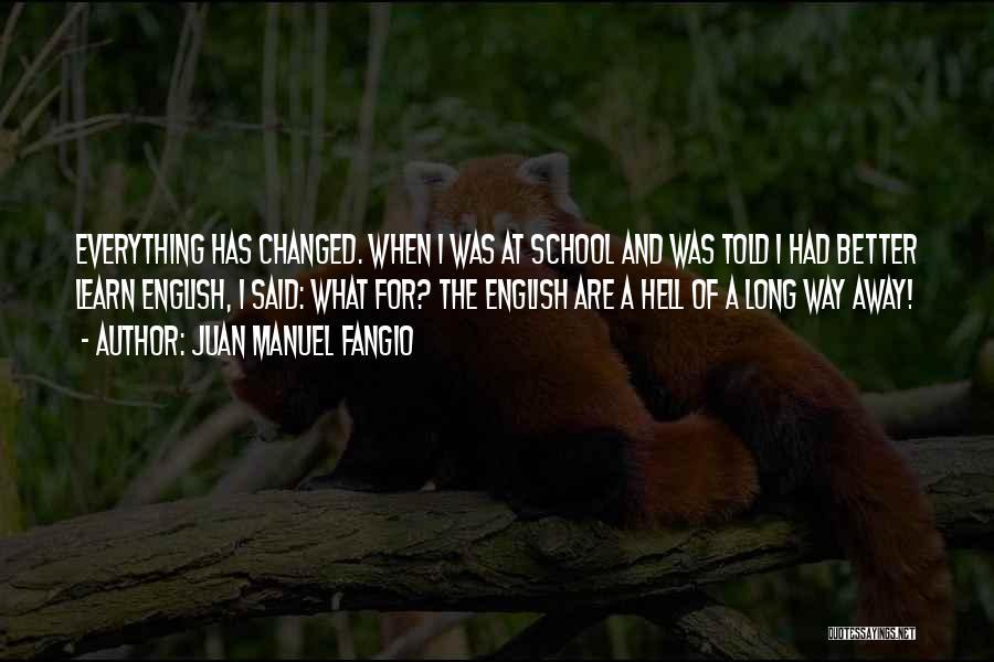 Juan Manuel Fangio Quotes 2243510