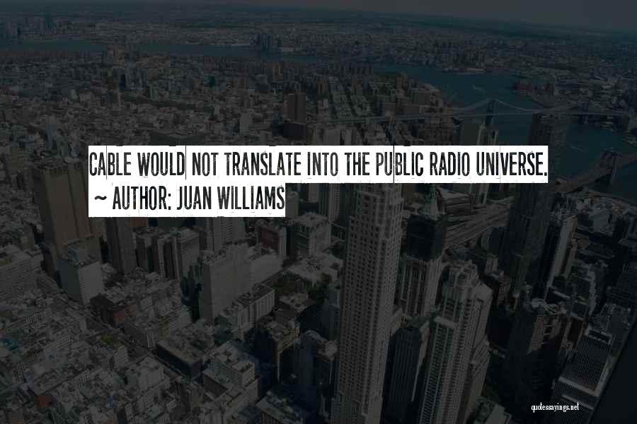 Juan Williams Quotes 2189055