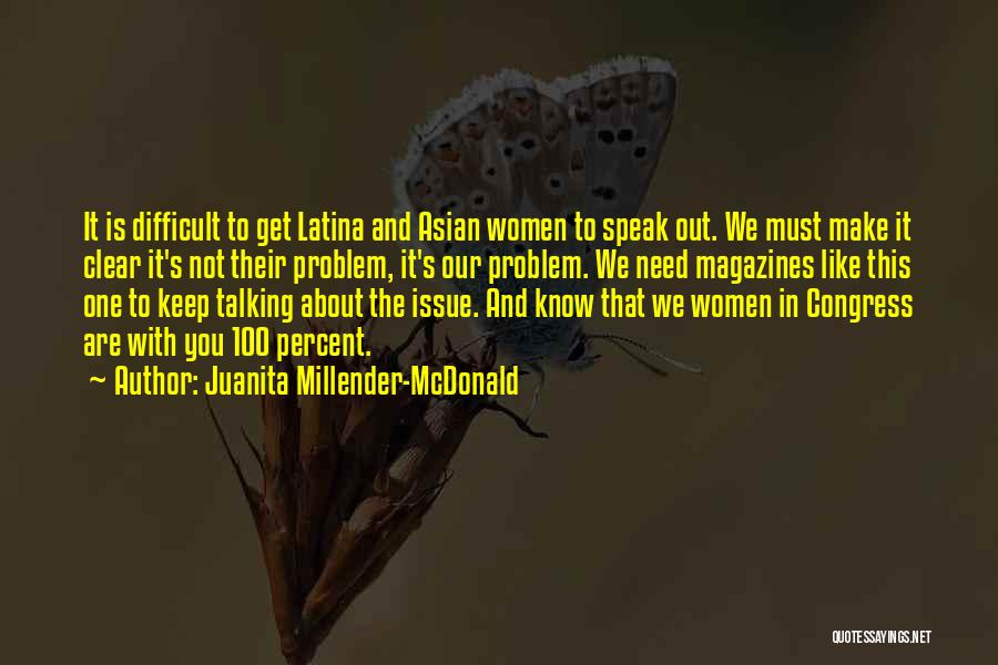 Juanita Millender-McDonald Quotes 1222765