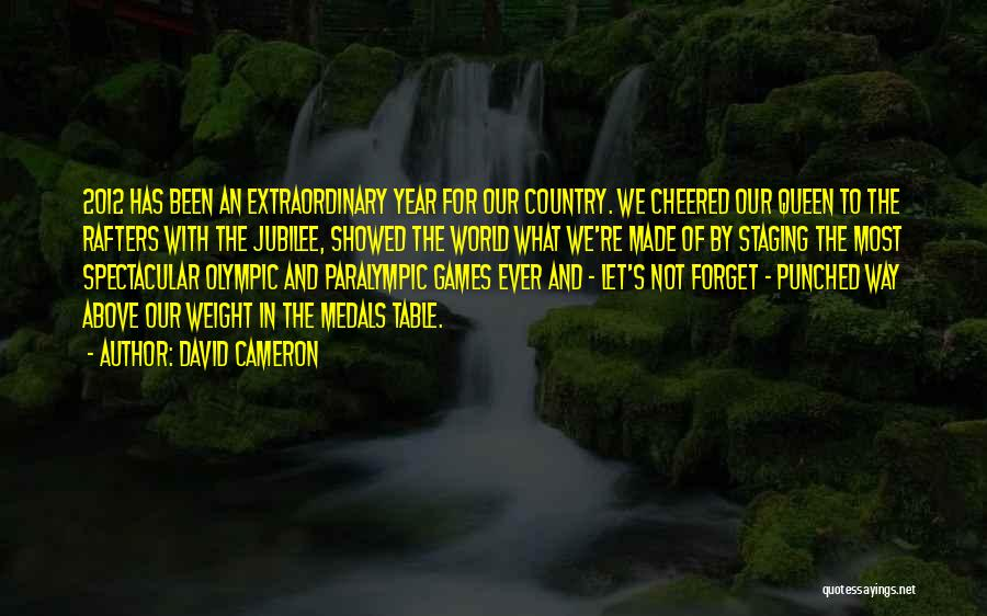 Jubilee Quotes By David Cameron