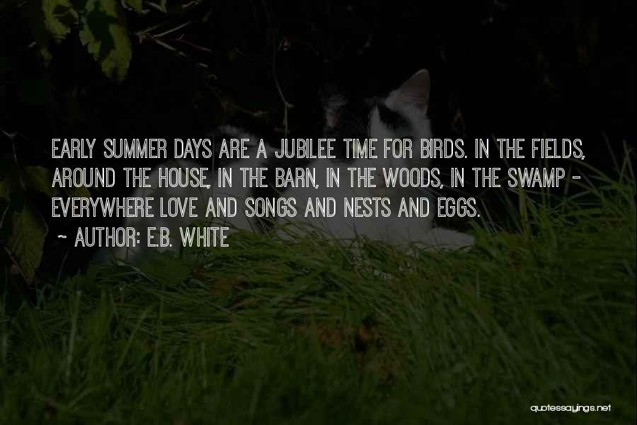 Jubilee Quotes By E.B. White