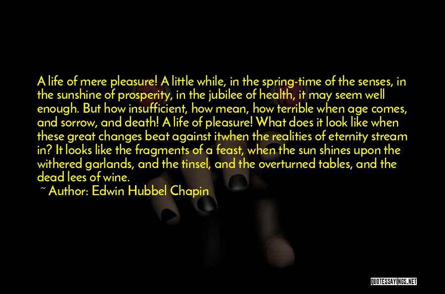 Jubilee Quotes By Edwin Hubbel Chapin