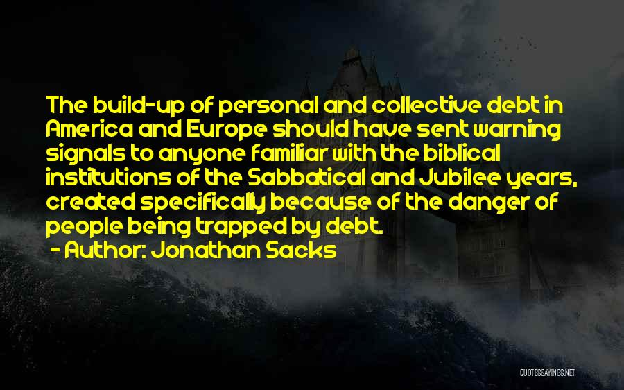 Jubilee Quotes By Jonathan Sacks