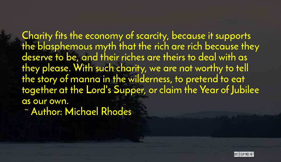 Jubilee Quotes By Michael Rhodes