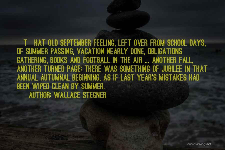 Jubilee Quotes By Wallace Stegner