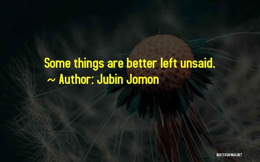 Jubin Jomon Quotes 1520366
