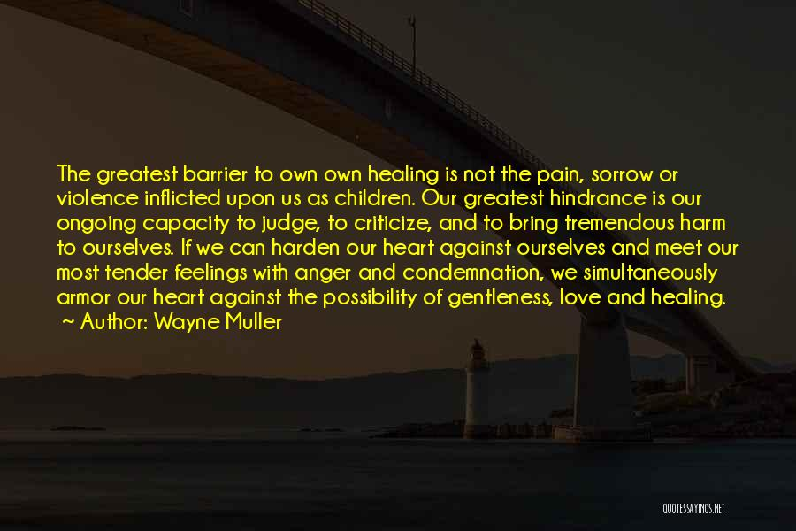 Judge Me Tender Quotes By Wayne Muller
