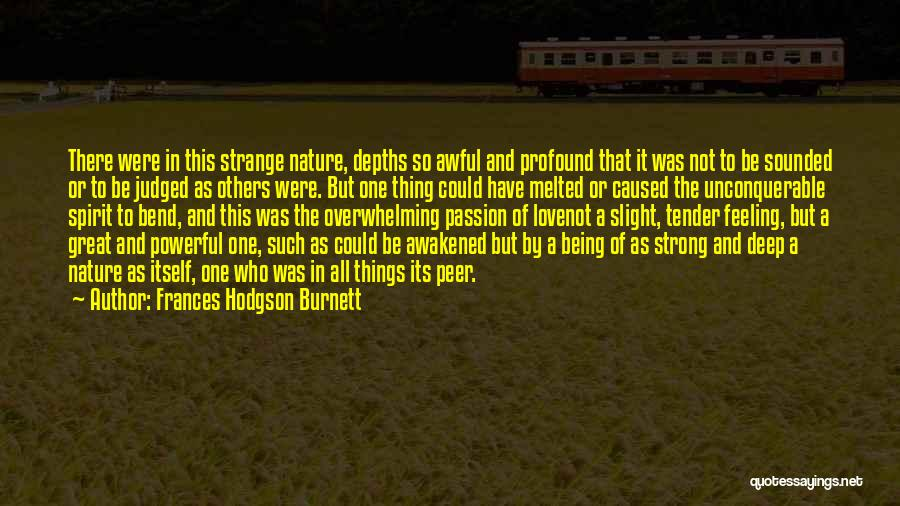 Judged By Others Quotes By Frances Hodgson Burnett