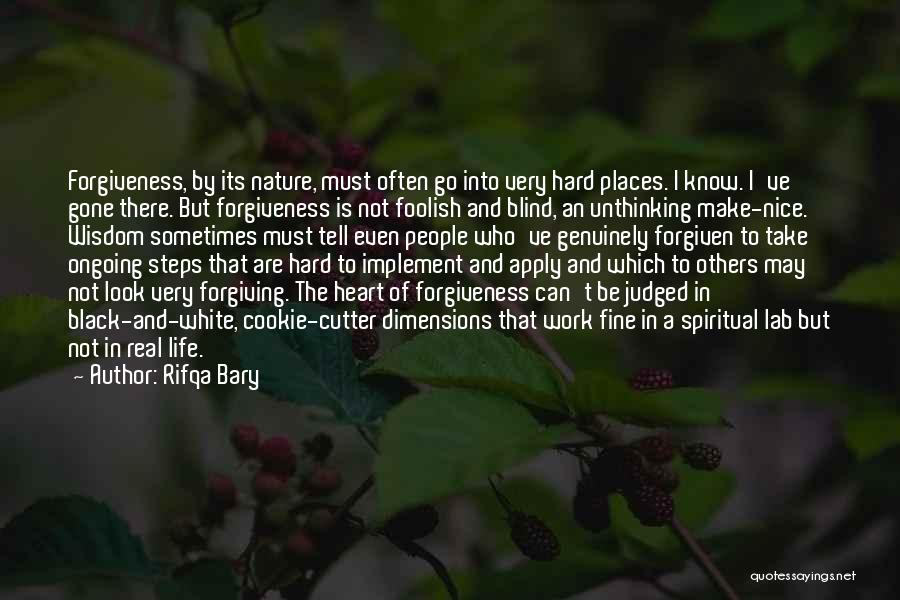 Judged By Others Quotes By Rifqa Bary