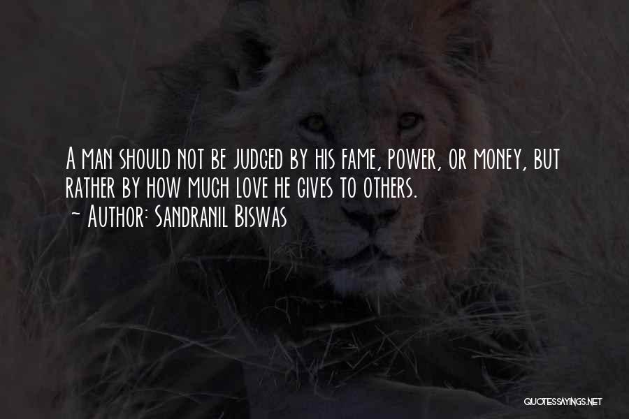 Judged By Others Quotes By Sandranil Biswas
