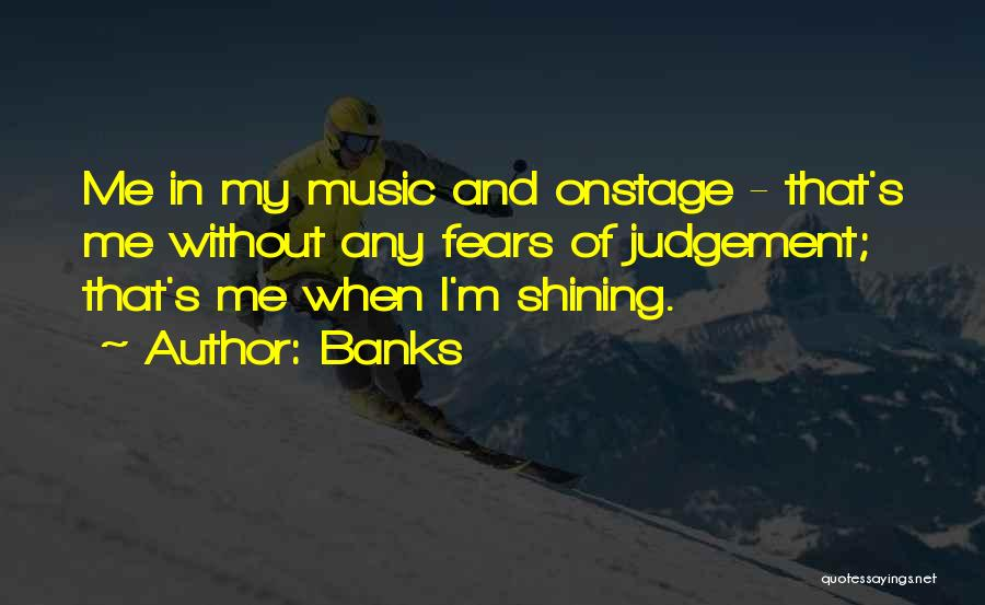 Judgement Quotes By Banks